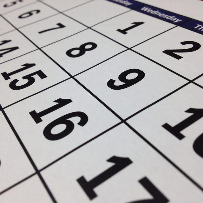 El BOE publica el calendario laboral para 2019